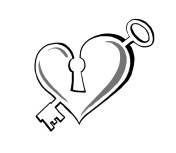 Alternative Weddings Manchester Heart Logo