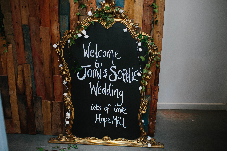 Stefanie Elrick Alternative Weddings Manchester Wedding Planner Planning Art Battle Dan Hough Photography 63