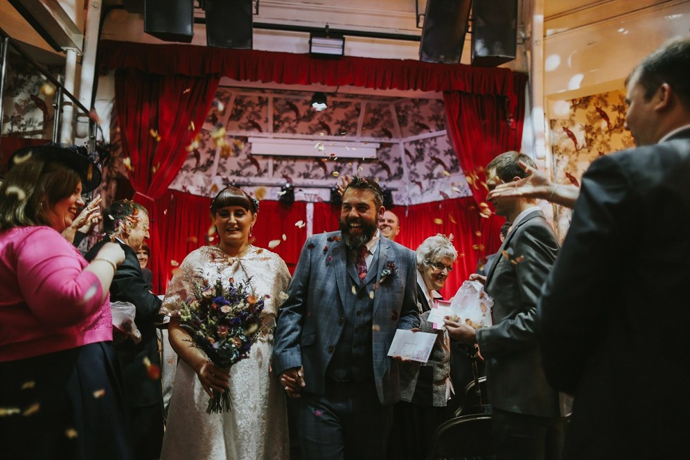 Alternative Weddings Manchester Stefanie Fetterman Hope Mill Theatre Matt Burgess Embee Photography (30)