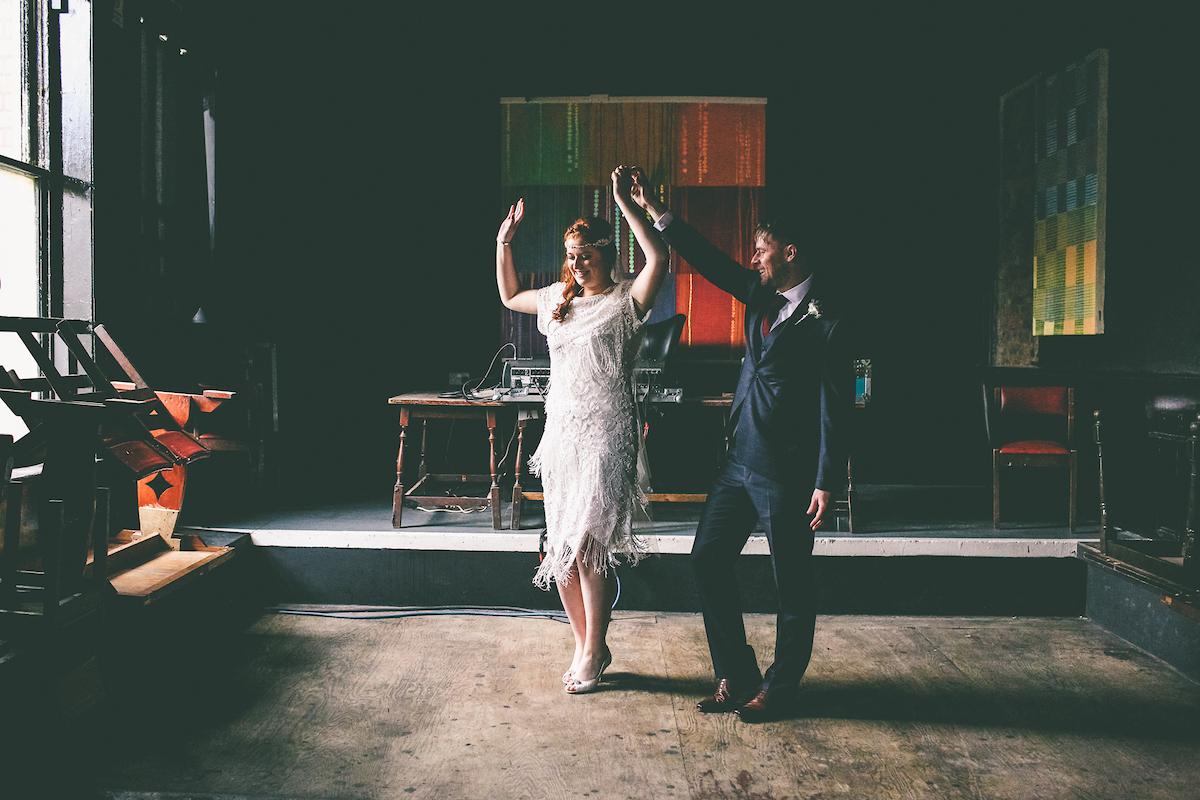 alternative weddings manchester stefanie fetterman hope mill theatre