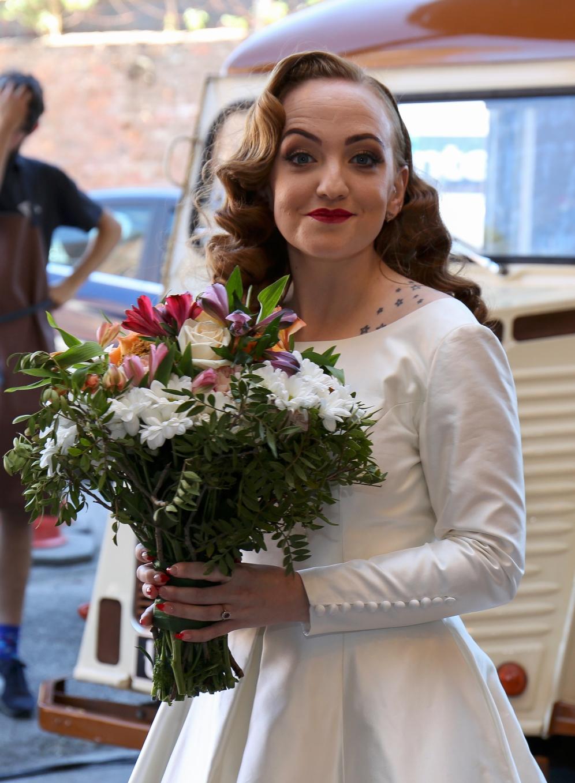 Stefanie Fetterman Ceremonies Alternative Weddings MDarlington Photography Hope Mill Theatre (2)